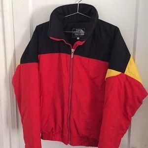 Men's vintage north face ski puffer jacket sz L